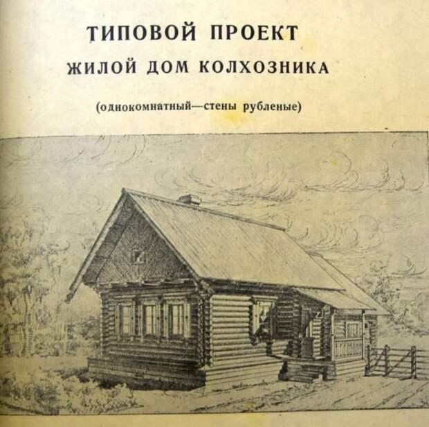 В каких домах должны были жить советские колхозники по мнению Сталина