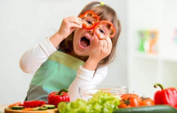 Приучить детей есть овощи не так уж и сложно