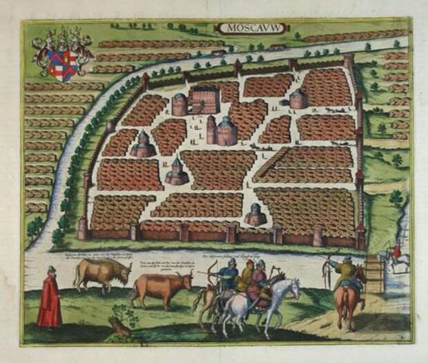 А. Вимина да Ченеда. Известия о Московии. 1657 г.