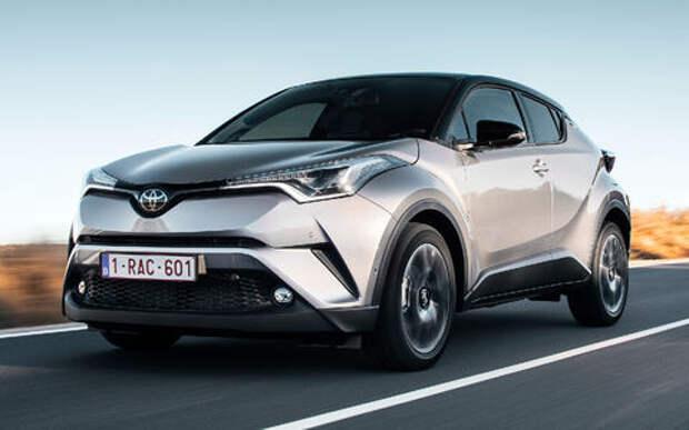 Toyota сертифицировала в России кроссовер C-HR