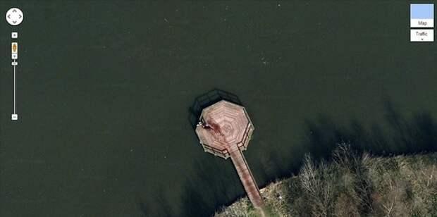 10 шокирующих сцен, которые можно увидеть на Картах Google