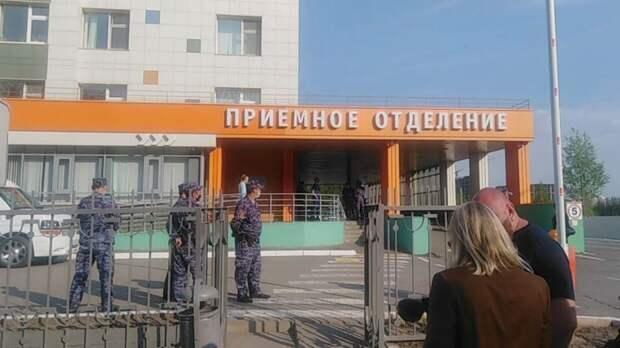 Количество госпитализированных после стрельбы в школе в Казани возросло до 23