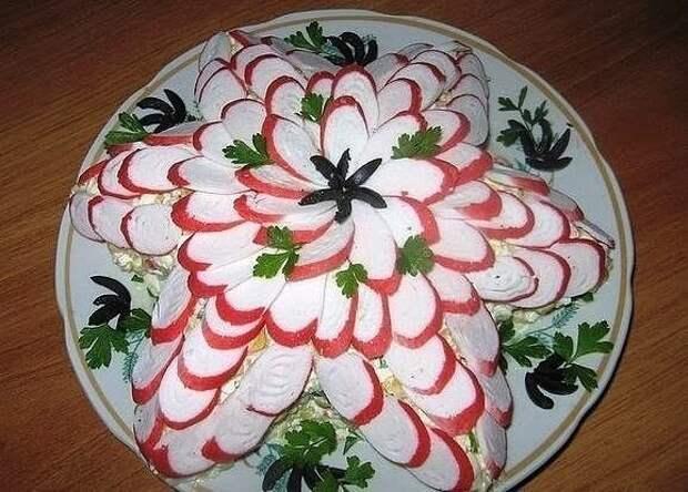 Красивые и вкусные салаты. Рецепты и идеи в копилочку!