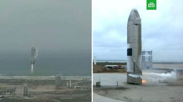 SpaceX провела успешное испытание прототипа корабля Starship