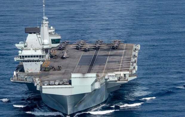 Экипаж флагмана британского флота заразился коронавирусом