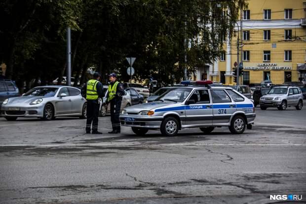 34-летний томич ударил инспектора ДПС кулаком по лицу в ответ на просьбу не нарушать порядок