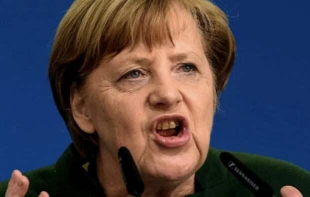 Меркель щелкнула по носу Украину