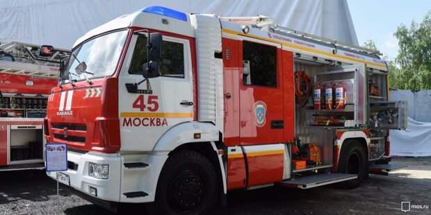 В парке «Москворецкий» усилен контроль контроль пожарной безопасности