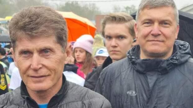 Дмитрий Лёгкий вместе с губернатором принял участие в субботнике