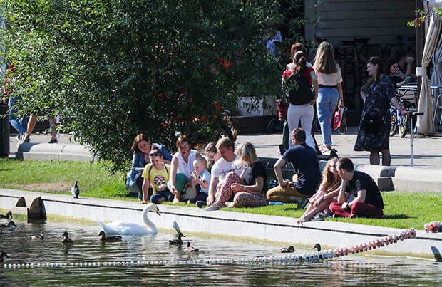В Москве ожидается самое жаркое 17 мая за последние 63 года