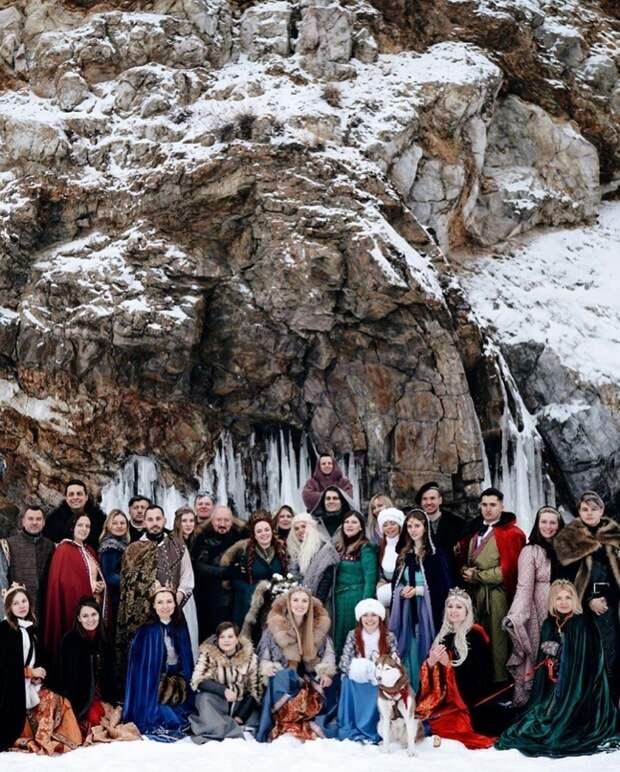 Свадьба ролевиков по Игре Престолов