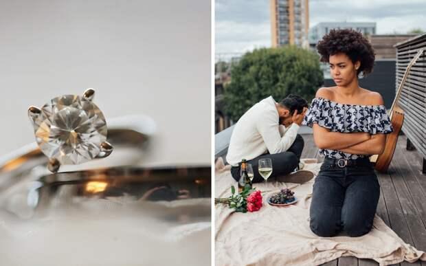 Парень вручил подруге бриллиант и пожалел: девушку подарок сильно разозлил