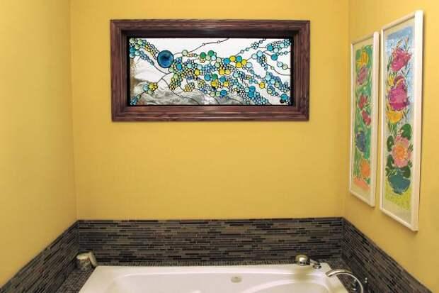 Окно между ванной и кухней в хрущевке — убрать или оставить?