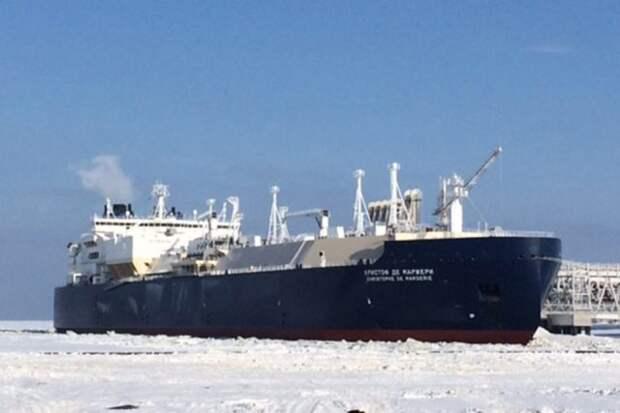 Кристоф де Маржери СПГ танкер Ямал СПГ Сабетта НОВАТЭК