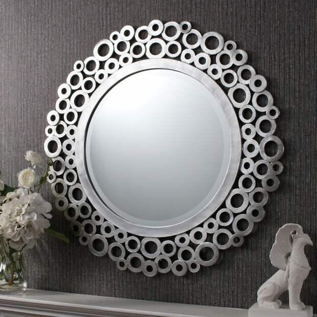 Хотите чего-то нового в доме? Переделайте старое зеркало в новое за пару шагов...