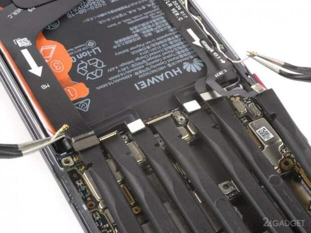 Эксперты iFixit разобрали и оценили ремонтопригодность Huawei Mate 40 Pro