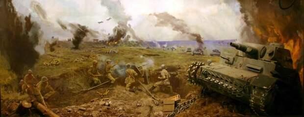 Диорама сражения на Буйничском поле (Могилёвский краеведческий музей)