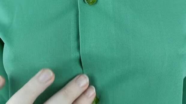 Хитрости, которые позволят дырку на одежде превратить в изюминку, а пуговицы — в украшение