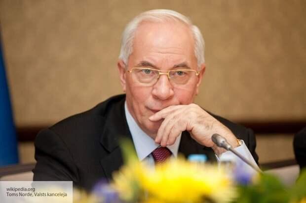 Экс-премьер Украины Азаров описал сценарий развития Белоруссии без России