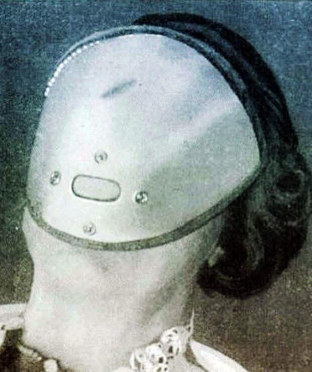 Алюминиевая маска для сна.