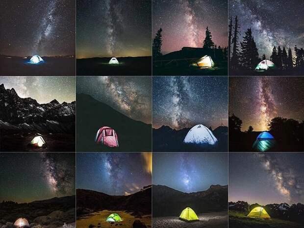 Инстаграм заполонили одинаковые фотографии