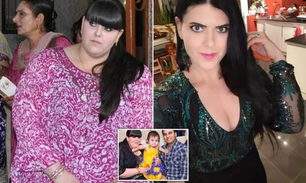 Молодая мать хотела уйти из жизни, но потом взяла себя в руки и похудела почти на 100 кг