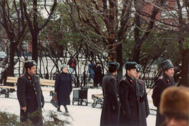 Московская милиция во время митингов в Москве.