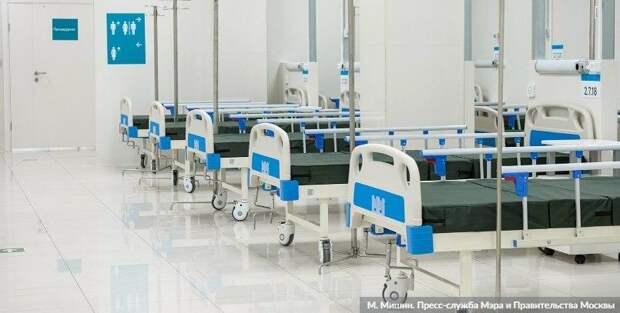 Собянин: Еще два резервных госпиталя откроются в АТЦ «Москва» и на ВДНХ. Фото: М.Мишин, mos.ru