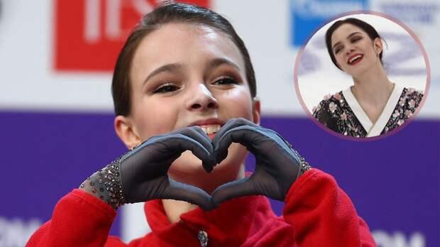 Медведева: «Щербакова была как суперженщина, супергерой на чемпионате России»
