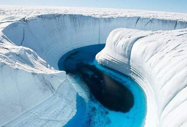Неизвестный источник геотермальной энергии обнаружен под Антарктидой