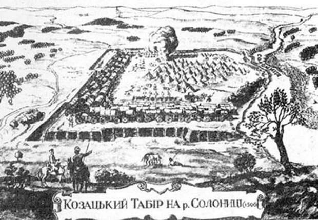 Казацкий табор на реке Солонице (восстание под руководством Наливайко, 1596 год) - Гусария: modus operandi | Warspot.ru