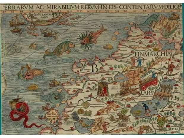 Мощный удар по Украине: Карты XV–XIX вв
