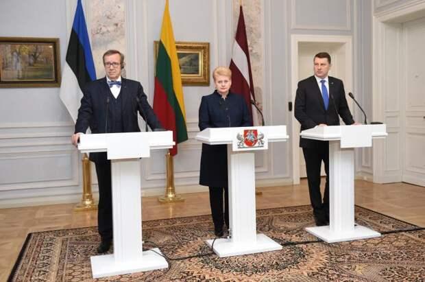 Политический ход России навел в Прибалтике панику