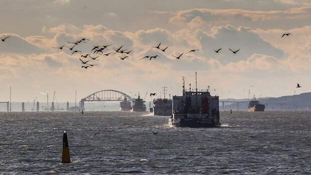 Дандыкин: Киев от мечты о базе в Азовском море отделяет Керченский пролив