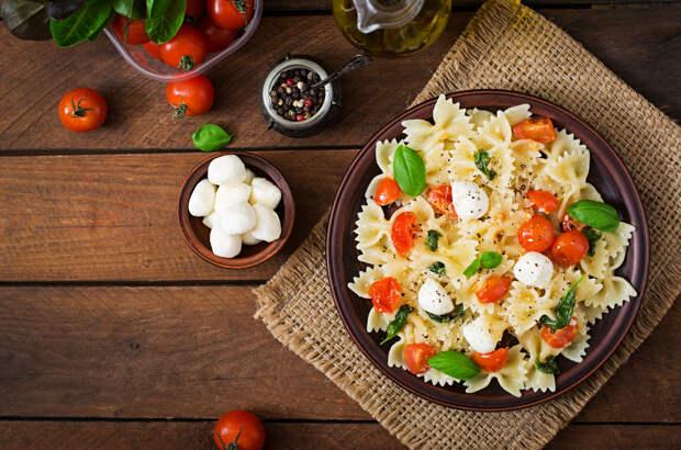 Рецепт дня: итальянский салат-паста