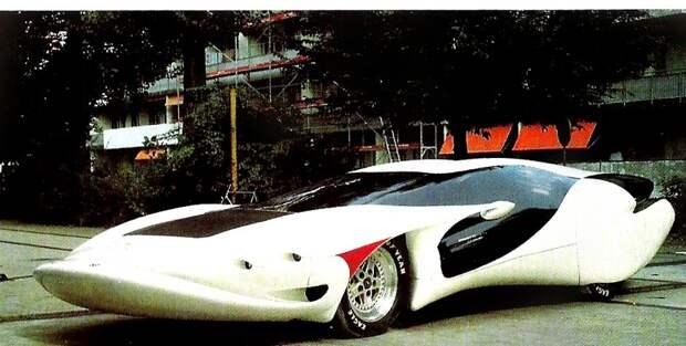 """Colani Corvette Chrisma (1989) Да, """"Шевроле Корветт"""" мог быть и таким Colani, авто, дизайн"""