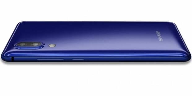 Sharp Aquos S2: смартфон с безрамочным дисплеем и самым узким сканером отпечатков пальцев