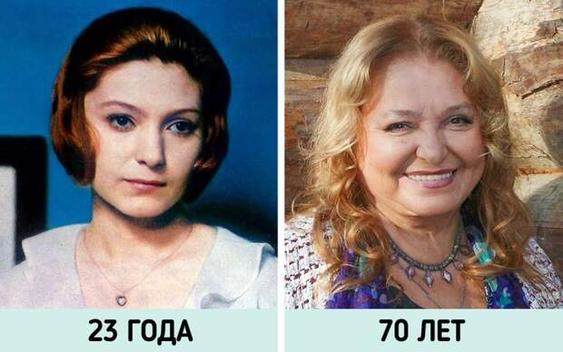 Как изменились  советские актрисы, от красоты которых всем сносило крышу