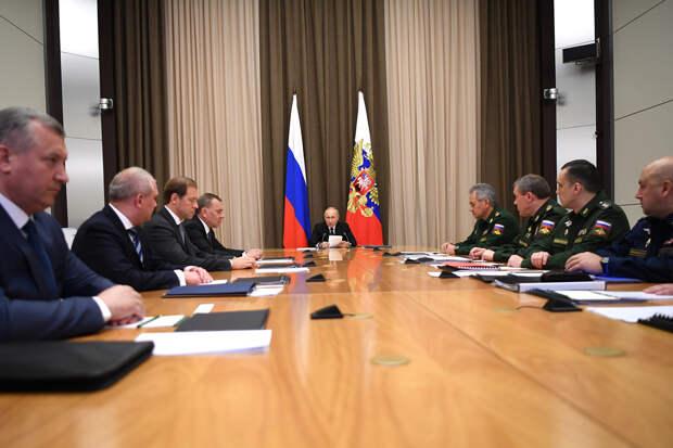 Путин рассказал о создании нового пункта управления ядерными силами
