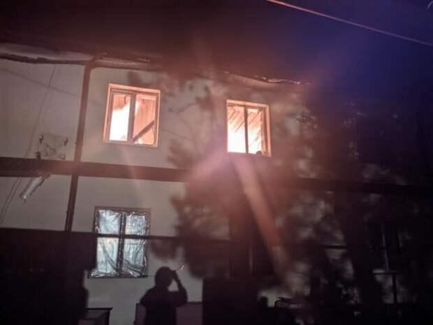 На пожаре в Бахчисарайском районе погиб 64-летний мужчина