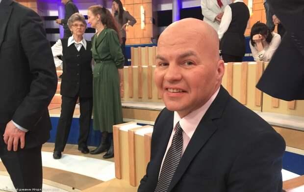 Русофоба Ковтуна снова избили в эфире ток-шоу