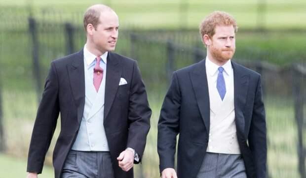 Стала известна причина конфликта между британскими принцами