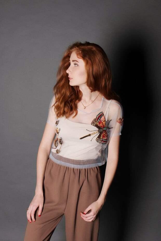 Вышитые блузки Кaterina Marchenko