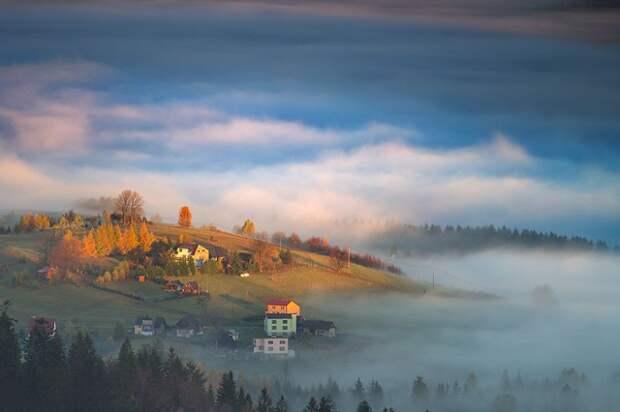 Удивительные пейзажи в объятиях тумана