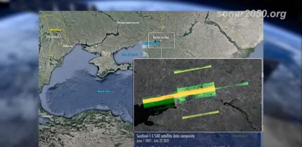 Россию обвинили в «ослеплении» двух европейских спутников