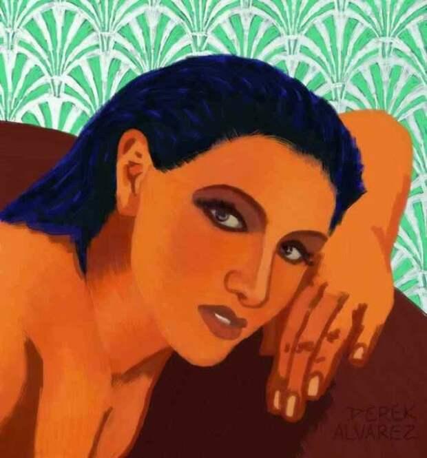 Американский художник. Derek Alvarez