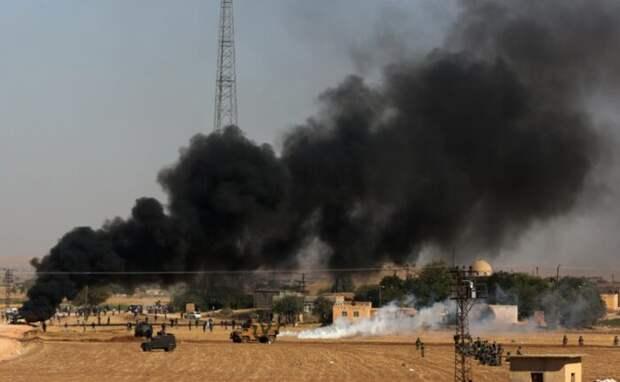 По базе США, откуда грабили сирийскую нефть, нанесли мощный ракетный удар