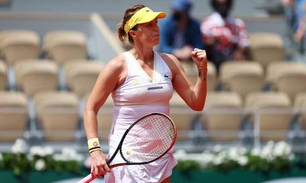 Павлюченкова победила Азаренко и вышла в четвертьфинал «Ролан Гаррос»