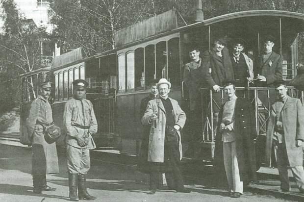Первый одесский трамвай
