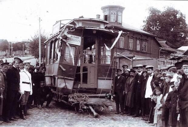 Авария в Смоленске. Август 1910 года. СССР, аварии 18+, трагедии